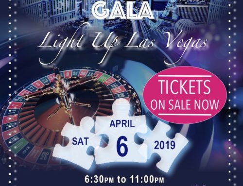 Autism Gala Event Light Up Las Vegas